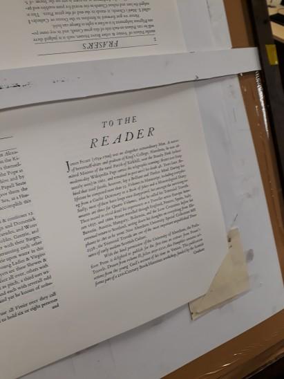 Sheet in Press